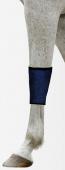 Chladící bandáž pro koně na nohy Aqua CoolKeeper Pacific Blue (krátká)
