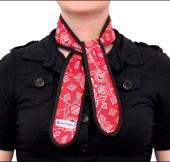 Chladící kravata Aqua CoolKeeper Red Western