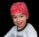 Dětský chladící šátek Aqua CoolKeeper Red Western
